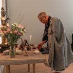 Zen Zeremonie Ende der Anrufung