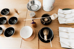 Süssigkeiten für japanische Tee-Zeremonie